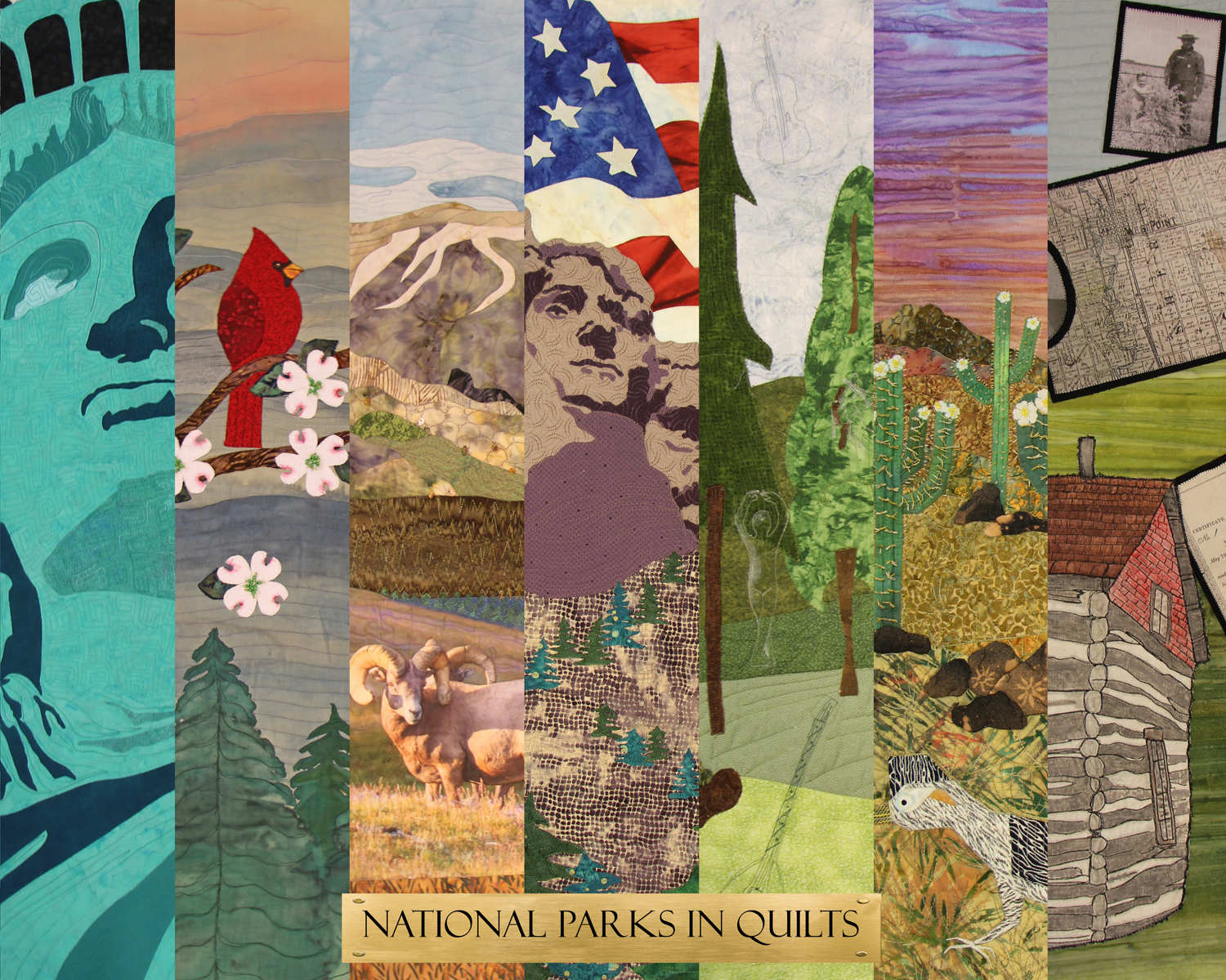 The National Park Service Centennial Quilt Show Park Chasers
